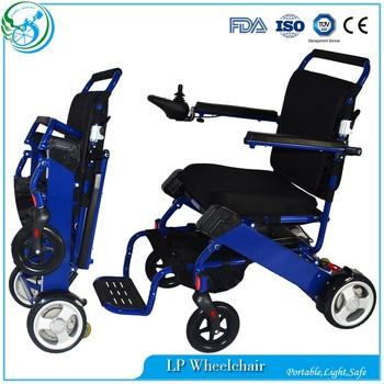 Cheap Aerospace Aluminum Lightweight Electric Wheelchair