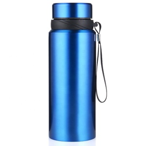 Stainless steel thermos cup travel large capacity drinking water bottle can be customized logo