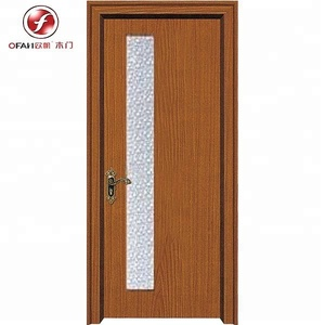40mm front position kitchen teak wood door design