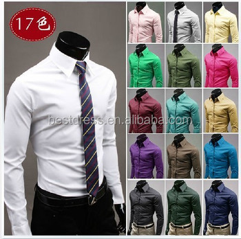 Slim fit dress shirts for cheap