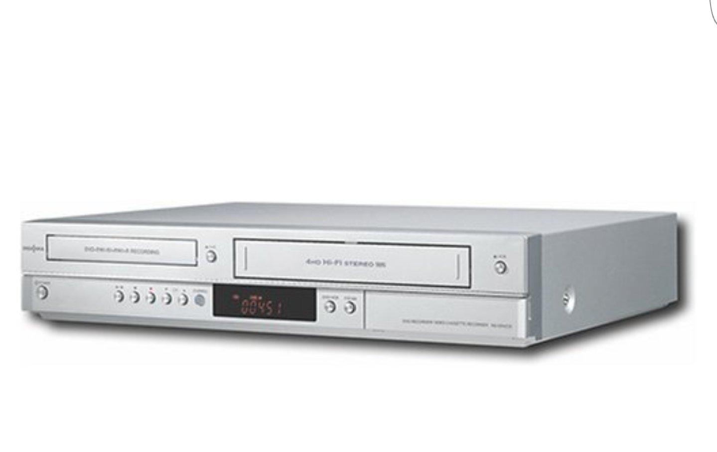 Insignia Progressive-Scan Multiformat DVD-R/-RW/+R/+RW DVD Recorder/Hi-Fi VCR Combo