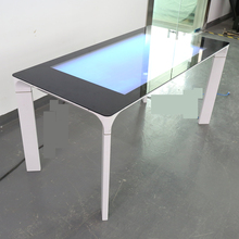 43 Inch Capacitieve Touch Tafel <span class=keywords><strong>Interactieve</strong></span> Koffie <span class=keywords><strong>Kiosk</strong></span> met lcd-scherm