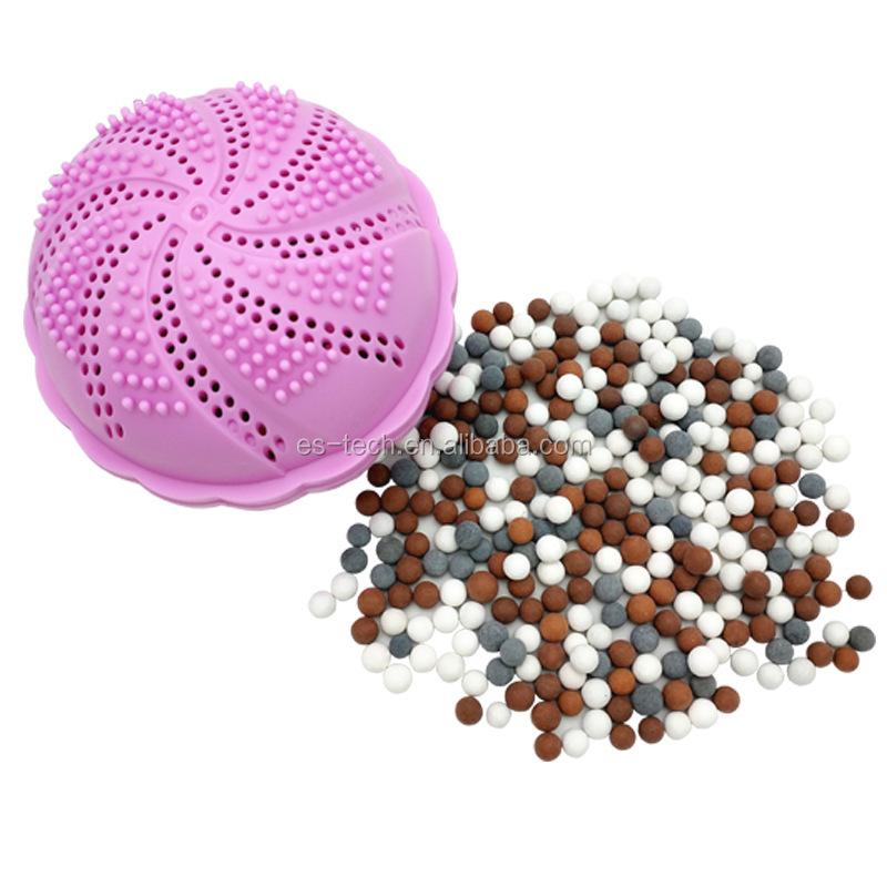 Lavage balle anti-statique blanchisserie boule de lavage de charbon de Bambou nano boule de blanchisserie