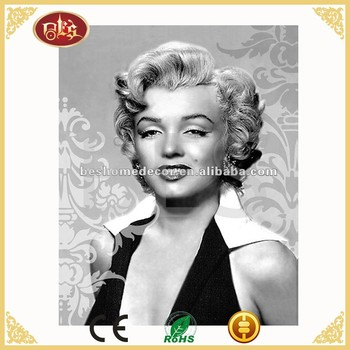 Marilyn Monroe canvas printing,stretched canvas painting