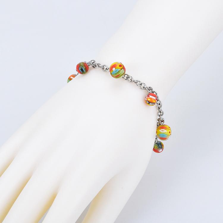 6bb2b00913d3 Cristal de Murano joyería de moda italiano de pulseras para las mujeres