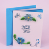 Wholesale Paper Handmade Thank You Greeting Card
