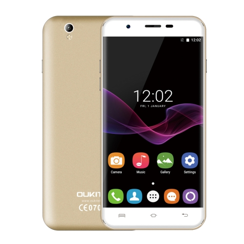 Original Free Sample Brand New OUKITEL U7 Max 1GB+8GB Mobile phone 3G unlocked 2G cell smartphone Champagne Gold