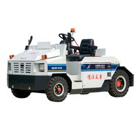 TRAILER electric towing tractor FOR CARGO LUGGAGE AIRPORT