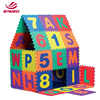 EVA foam abc floor non slip baby play alphabet puzzle mat 36 pcs
