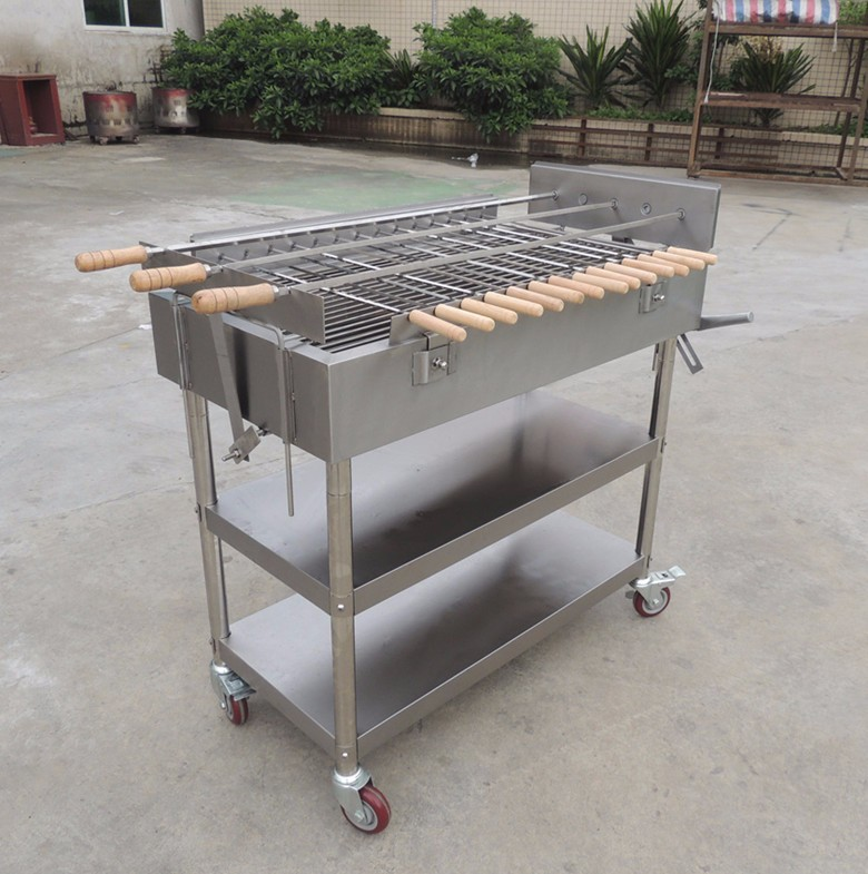 Picnic Charcoal Barbecue Grill Design Electric Motor For Rotating Barbecue  - Buy Barbecue Design,Barbecue Grill Charcoal,Electric Motor For Barbecue  ...