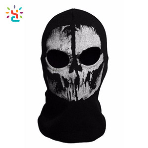 Custom Print Skull Balaclava Face Mask 3d Outdoor Sports Ski Hat Motorcycle Cycling Masks