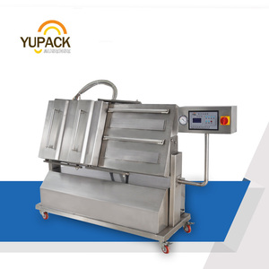 LCD control system Tilted Type vacuum packing machine/Vacuum packaging Machine/ vacuum packer with CE