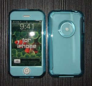Crystal / PC / ABS Case for iPhone