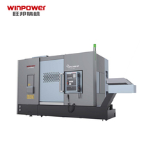 Winpower Attractive Price 새 형 경사 <span class=keywords><strong>침대</strong></span> Cnc Lathe 12 역