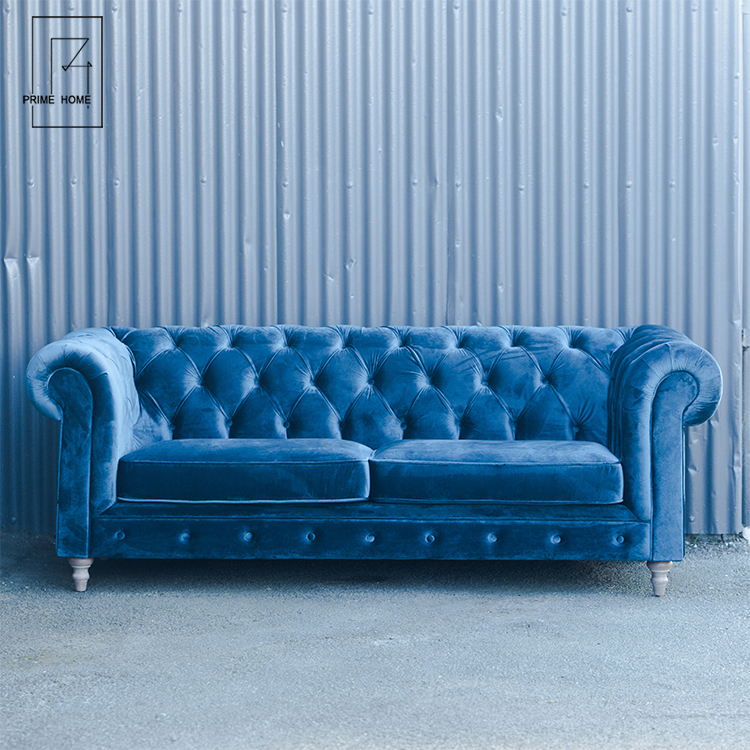 Support Oem Italian Velvet Chesterfield Sofa Luxury Velvet Sofa