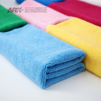 good quality 40x40 microfiber cloth for cleaning
