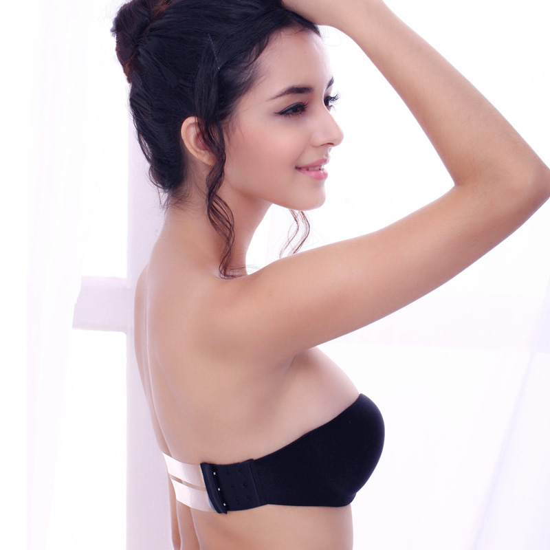ผู้หญิง Push up Backless Bra Invisible Bra