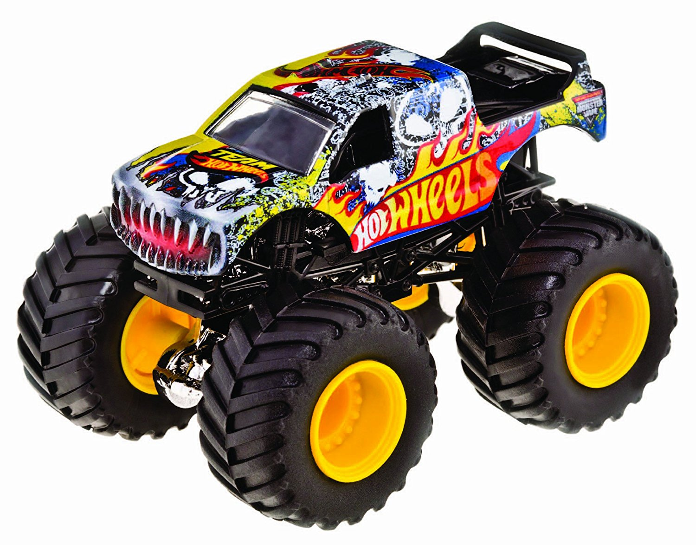 Hot Wheels Monster Jam Team Hot Wheels Die-Cast Vehicle, 1:24 Scale