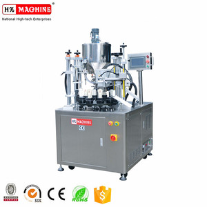 Automatic Soft Tube Filling Sealing Printing Date And Cutting Machine