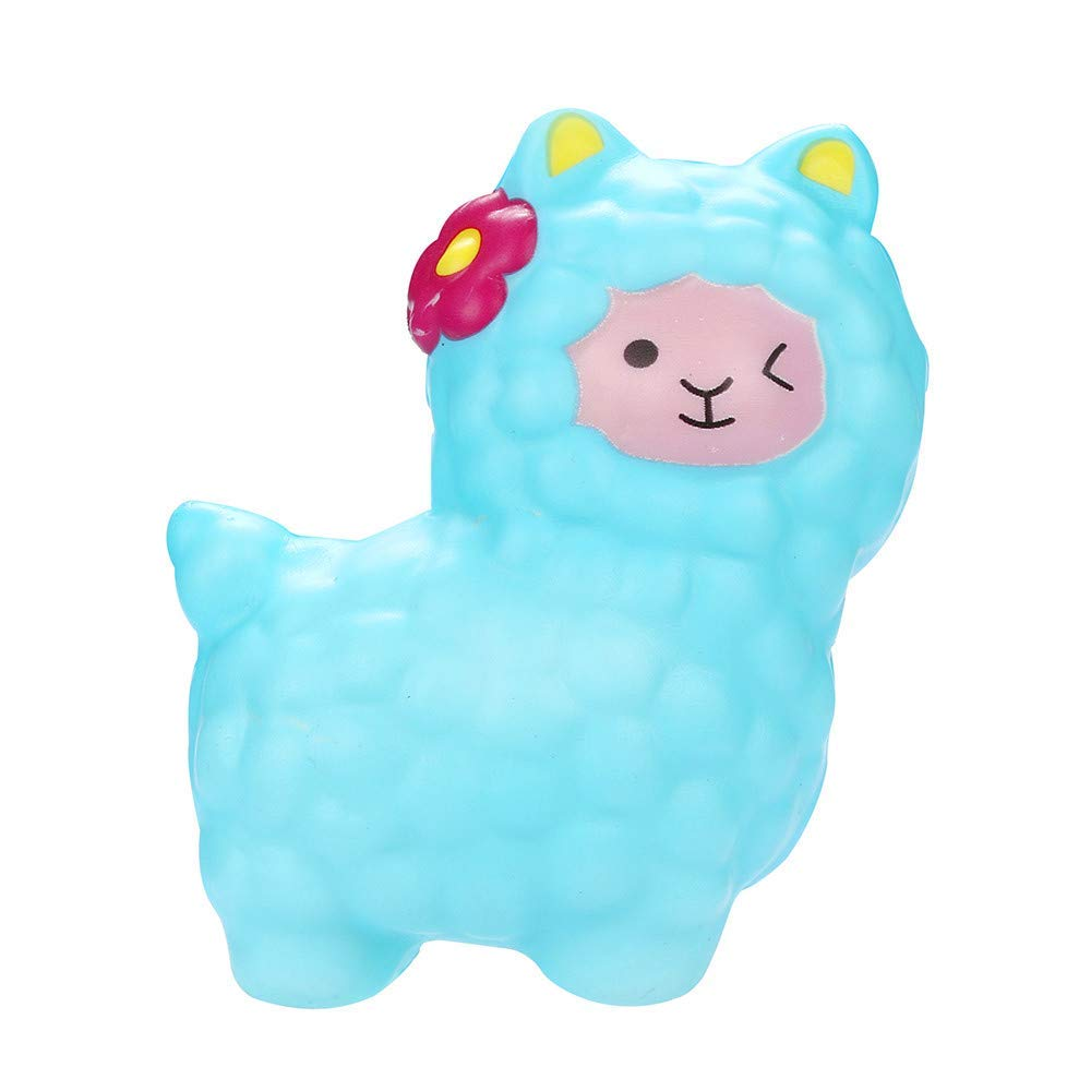 callm Squishies Llamas Alpaca Slow Rising Jumbo Squishy Toys Kawaii Cute Scented Squishies Kids Party Squishy Stress Reliever Toy