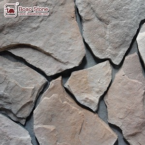 Stack Faux Stone Panels Artificial Stone Wall Veneer Siding