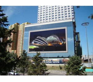 Factory price!!! Outdoor led display easy operate full color led screen waterproof cabinet p6 p5 p4 outdoor , P8 1/4 scan led