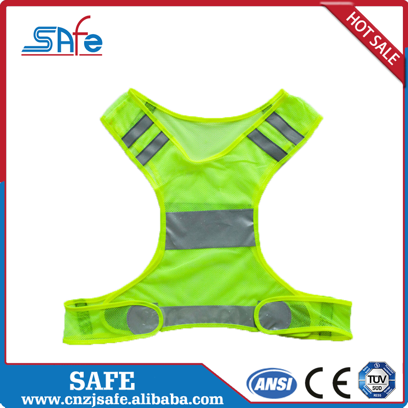 Poly flame resistant high visibility running clothing