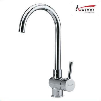 Chrome Brass Kitchen Sink Mixer Tap - Buy Kitchen Sink Mixer Tap ...