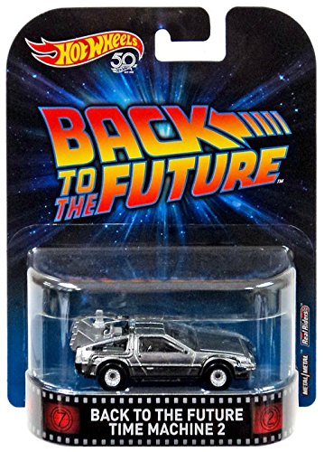 2018 Hot Wheels Retro Entertainment. Back to The Future Time Machine 2 DeLorean