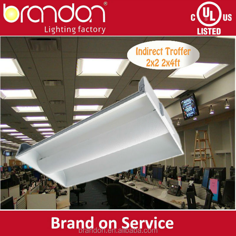 Ul Dlc Listed 2x2 2x4 Led Troffer Recessed Surface Mount
