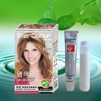 EVER COLOR hair dye brands in india(deep untum chestnut) OEM hair products