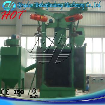 wheelabrator blast machine