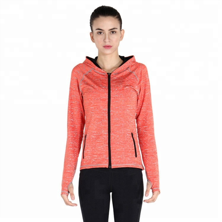 Great Stretch Yoga Clothes Dry Fit Gym Apparel Wholesale Yoga Jacket For Women
