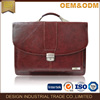 2017 high qualtiy fashion men briefcase Document bag business briefcase with phone holder tablet holder leather laptop bag