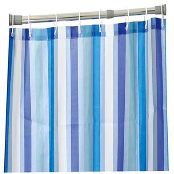 Shiny Anodized Telescopic Aluminum Alloy Straight Shower Curtain Rod