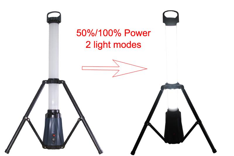 Eco Fluorescente Up Light 110 240 v Portatile Treppiede Sito Oscuramento della luce Ricaricabile luce del lavoro