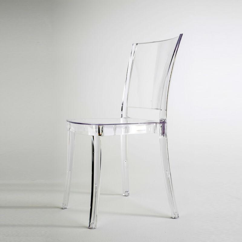 silla transparente de policarbonato lucienne neutral - Sillas Transparentes Baratas