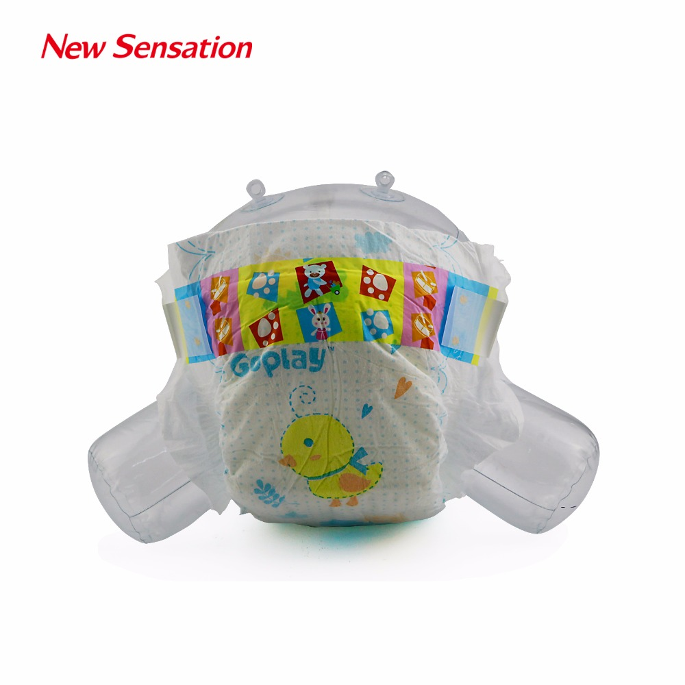 Pretty Baby Girls Wearing B Grade Baby Diapers of High Quality (GOPLAY-001)