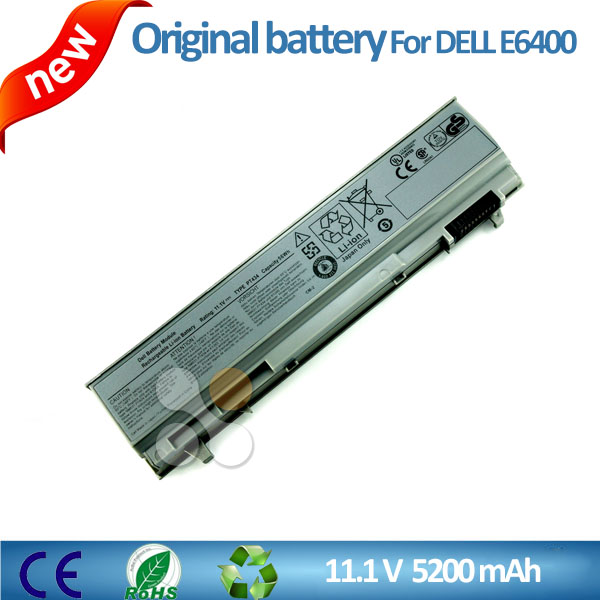 Genuine original laptop battery for Dell latitude E6400 E6500 E6410 E6510 PT434 PT435