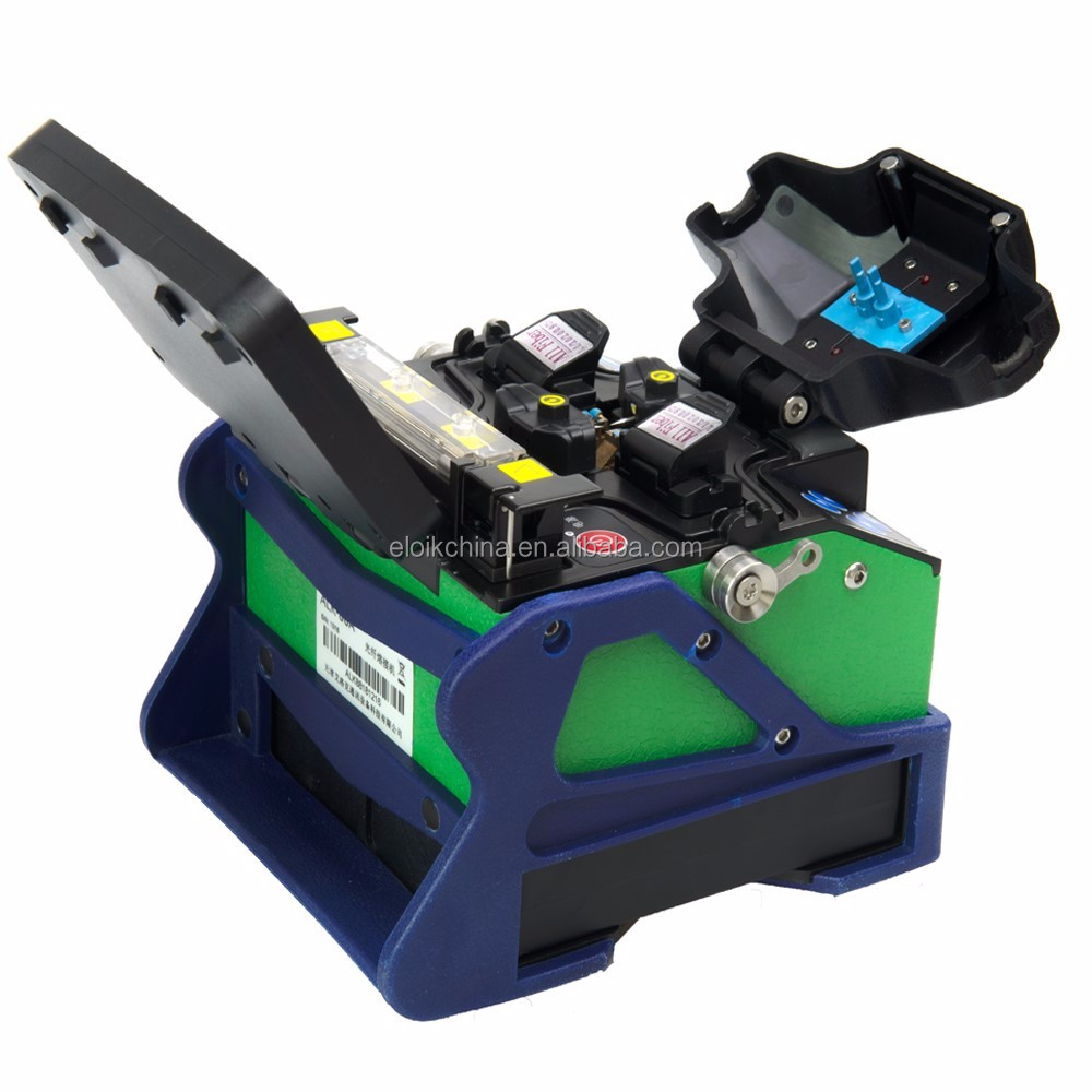 Eloik newest production ALK-88A fusion splicer two batteries and pluggable for FTTH network