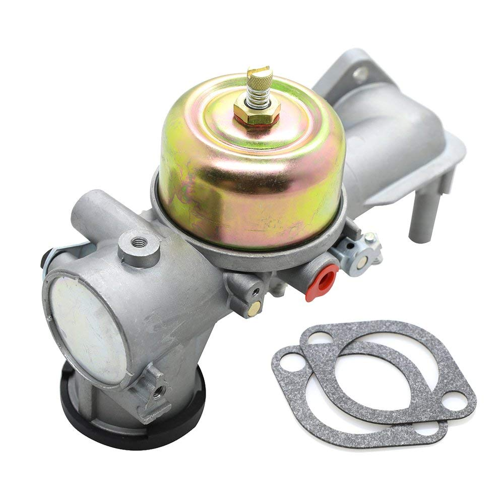 MNJWS 491590 Carburetor Carb Replacement with Gasket Kit for Briggs & Stratton 191700 192700 193700 Engine Series Replace # 491590 390811 392152