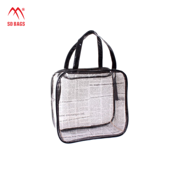 2015 Top quality transparent pvc beach bag , pvc blanket bag