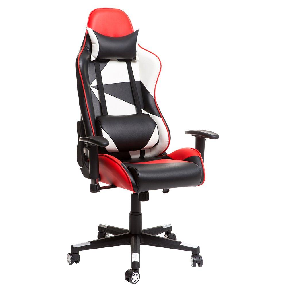 Buy Merax Racing Style Gaming Chair Adjustable Swivel Office Chair