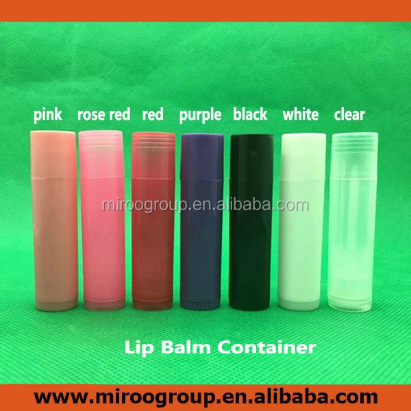 Free shipping to UK! 500+5pcs/lot 7colors 5ml DIY Empty Plastic Lip Balm <strong>Tube</strong>, 0.15oz Mouth Winter Lip Care Cosmetic Container
