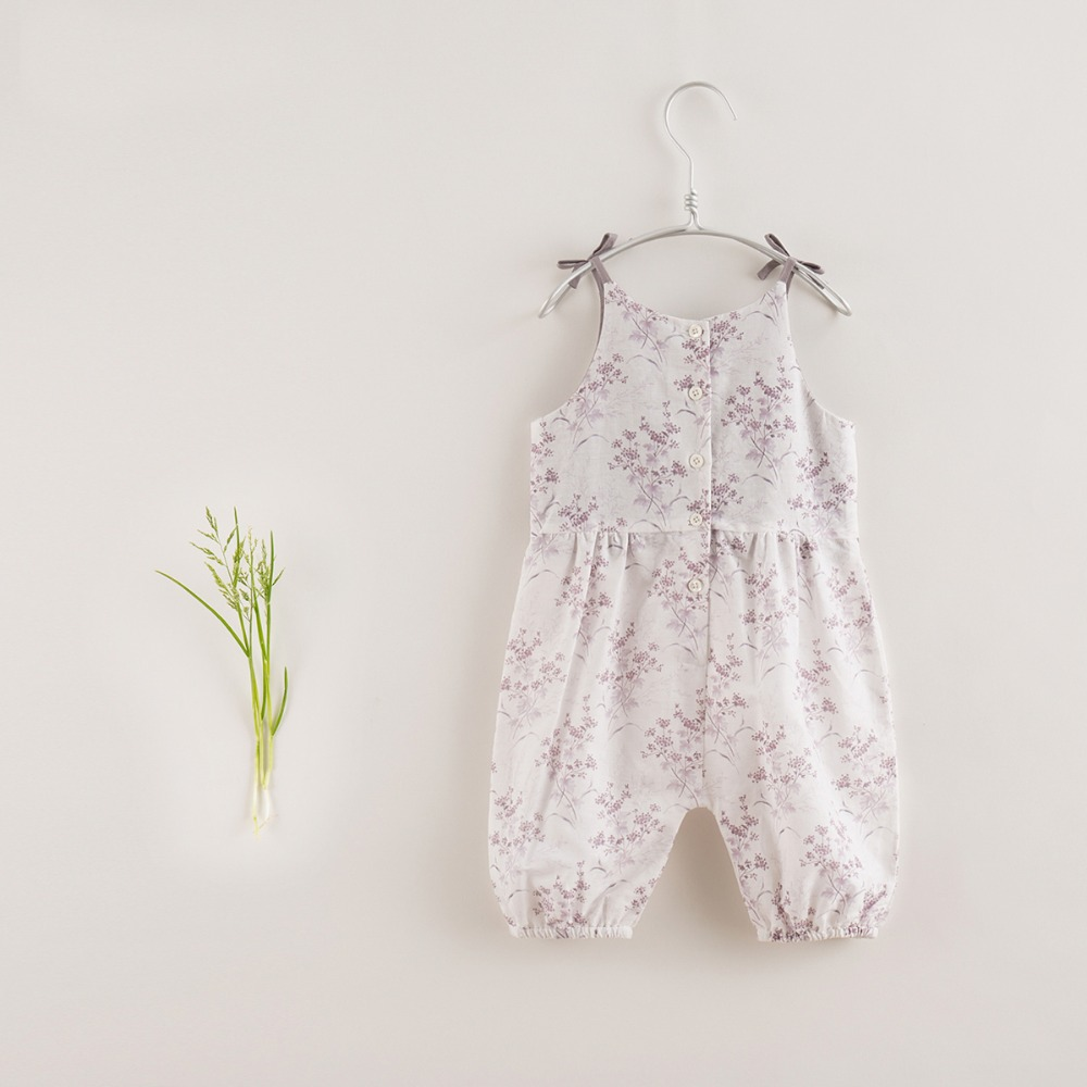 Toddler Baby Girl Floral Romper Kids Jumpsuit Infant Sleeveless Clothes Outfits