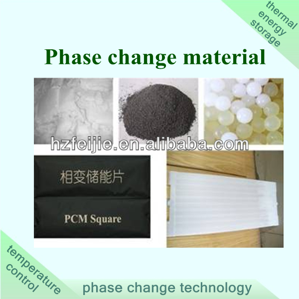 PCM phase change material for thermal energy storage