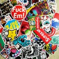 50Pcs No Repeat DIY Stickers For Skateboard Laptop Luggage Snowboard Phone Toy Styling Home Decor Stickers