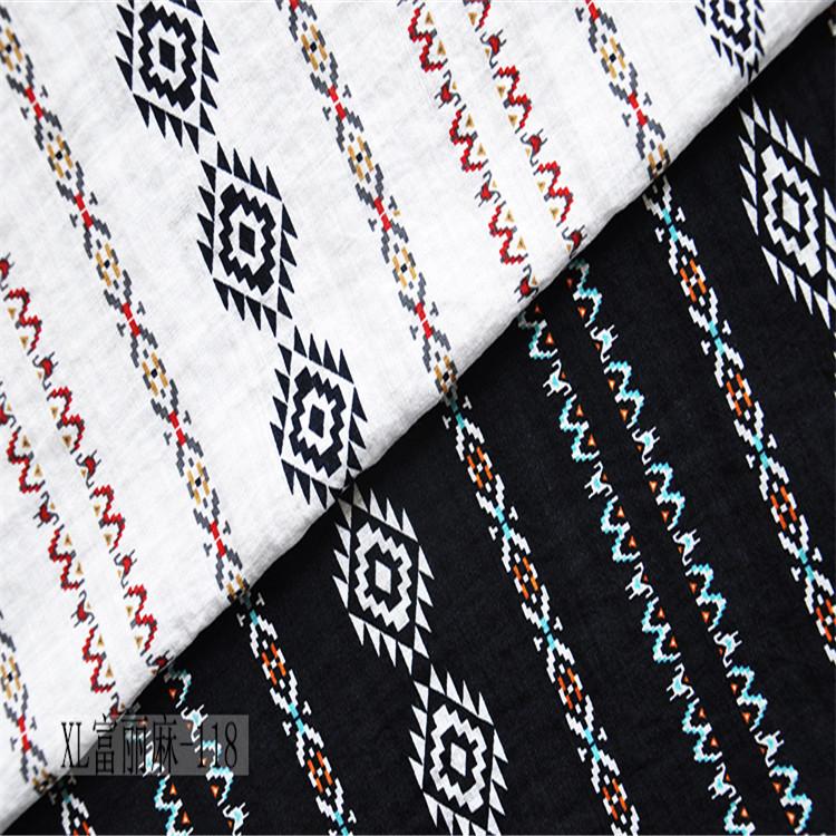 80% coton artificiel 20% nylon, coton et lin textile pour vêtements