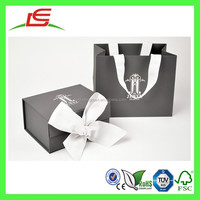 E0099 Luxury Design Bespoke Cardboard Jewellery Gift Box With Ribbon Wholesale