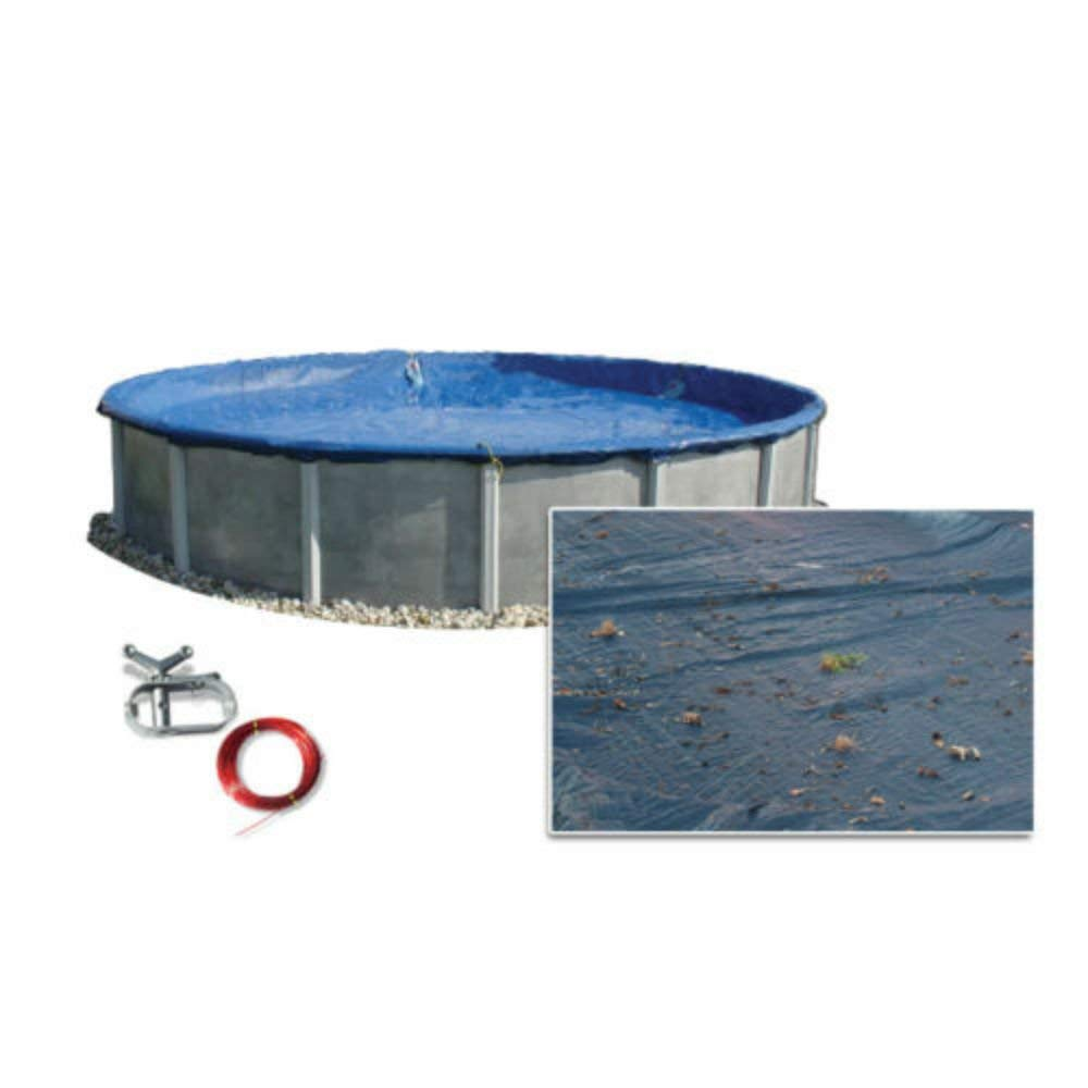 28ft Round Above Ground Swimming Pool Polar Winter Cover